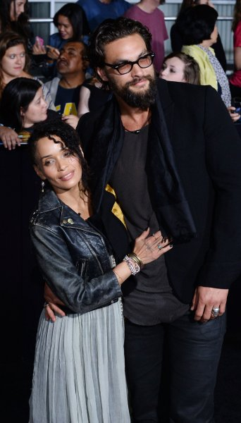 Actors Lisa Bonet and Jason Momoa attend the premiere of the sci-fi motion picture Divergent in Los Angeles on March 18, 2014. File Photo by Jim Ruymen/UPI
