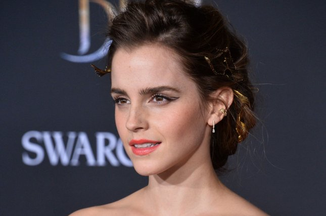 Cast member Emma Watson attends the premiere of the motion picture romantic musical fantasy Beauty and the Beast in Los Angeles on March 2. Watson's movie The Circle is to have its world premiere at the Tribeca Film Festival next month. Photo by Jim Ruymen/UPI