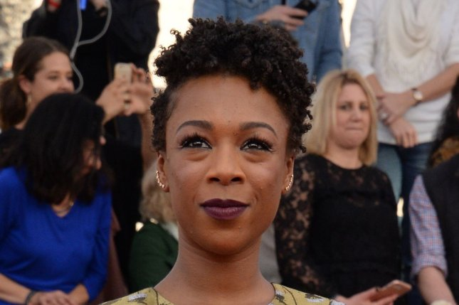 Samira Wiley arrives for the the 23rd annual SAG Awards on January 29, 2017. The Orange is the New Black star has married the show's writer Lauren Morelli. File Photo by Jim Ruymen/UPI
