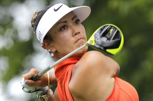 Michelle Wie had four top-15 finishes during the 2018 season. File photo by John Angelillo/UPI