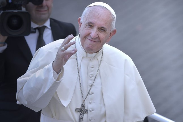 Pope Francis said he will take recommendations from cardinal bishops from South America into account, including the possibility of ordaining married men on a regional basis. Photo by Sefano Spaziani/UPI