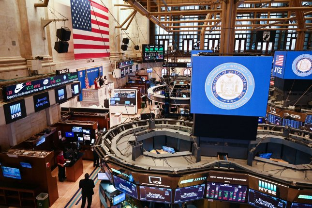 The trading floor at the New York Stock Exchange opens on Tuesday after remaining closed for about two months due to the COVID-19 pandemic. Photo by Kevin P. Coughlin/Office of Gov. Andrew M. Cuomo