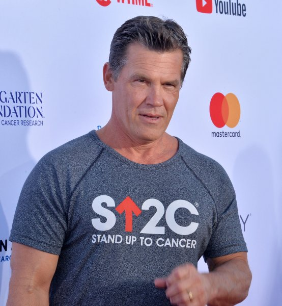 Josh Brolin attends the televised fundraising special Stand Up to Cancer at the Barkar Hangar in Santa Monica, Calif., on September 7, 2018. The actor turns 53 on February 12. File Photo by Jim Ruymen/UPI
