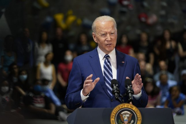 President Joe Biden said a voting bill under consideration in Texas is an assault on democracy.  Photo by Chris Kleponis/UPI