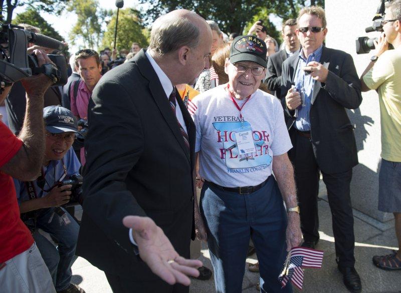 U.S. Rep. Louie Gohmert, R-Texas, at the National World War II Memorial in Washington, Oct. 2, 2013 UPI/Kevin Dietsch