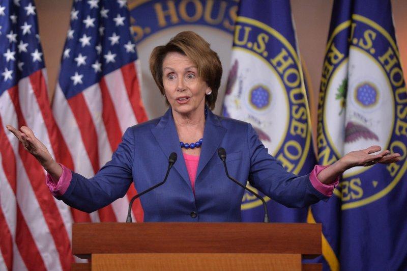 House Minority Leader Nancy Pelosi, D-Calif. UPI/Kevin Dietsch