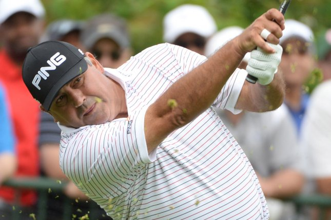 Former US Open Champion Angel Cabrera, of Argentina. Photo by Pat Benic/UPI
