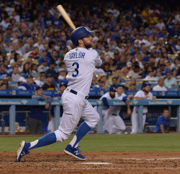 Chris Taylor's four hits pace Dodgers' 8-5 victory over Tigers