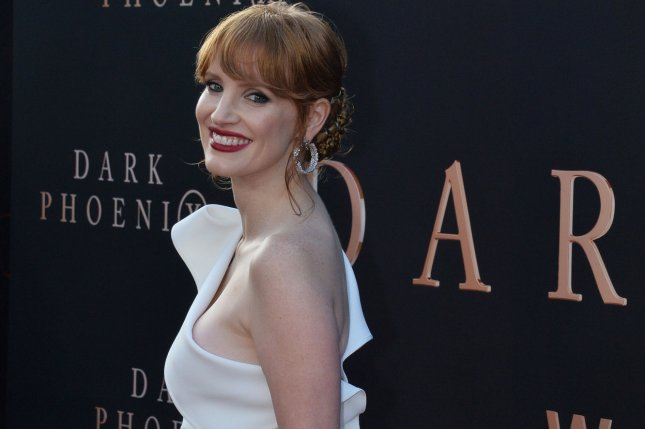 Actress Jessica Chastain has signed on to star in Netflix's film adaptation of the Tom Clancy video game, The Division. File Photo by Jim Ruymen/UPI