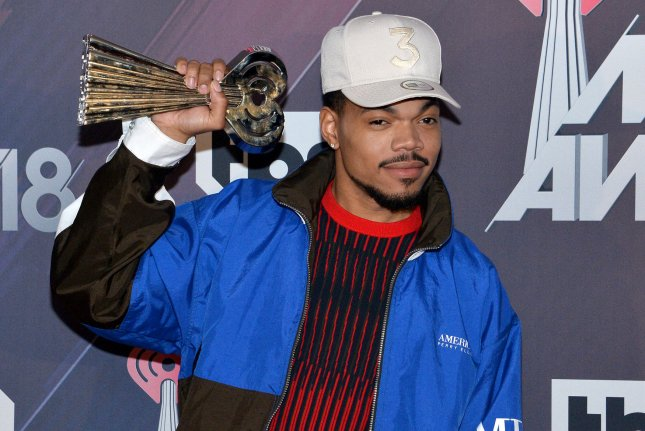 Chance the Rapper will be hosting Nickelodeon's Kids' Choice Awards 2020 on March 22. File Photo by Jim Ruymen/UPI