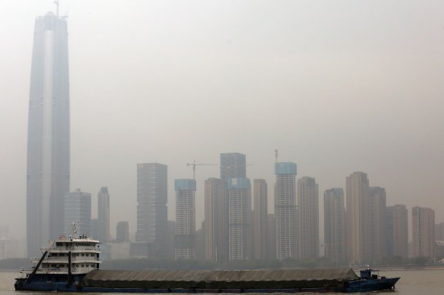 The central Chinese city of Wuhan is reporting new cases of the Delta variant of the novel coronavirus after an outbreak in Hunan Province. File Photo by Stephen Shaver/UPI