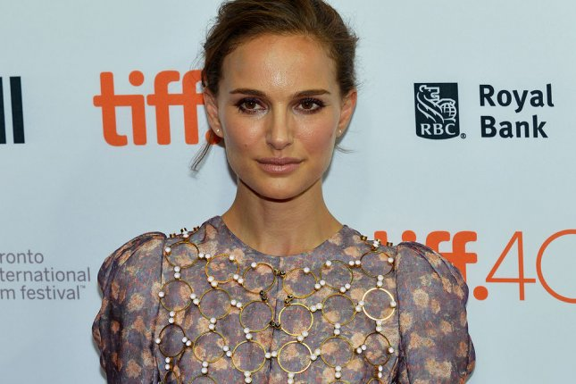 Natalie Portman at the Toronto International Film Festival's first TIFF Soirée on Sept. 9. The actress channels Jackie Kennedy in a first Jackie promo photo. File Photo by Christine Chew/UPI