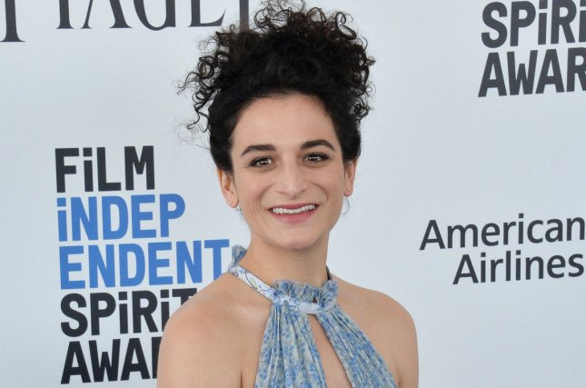 Jenny Slate attends the 32nd annual Film Independent Spirit Awards on February 25. Slate may potentially start Sony's Venom. File Photo by Jim Ruymen/UPI