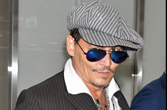 Johnny Depp spoke out following backlash to his starring role as Grindelwald in the Fantastic Beasts sequel. File Photo by Keizo Mori/UPI