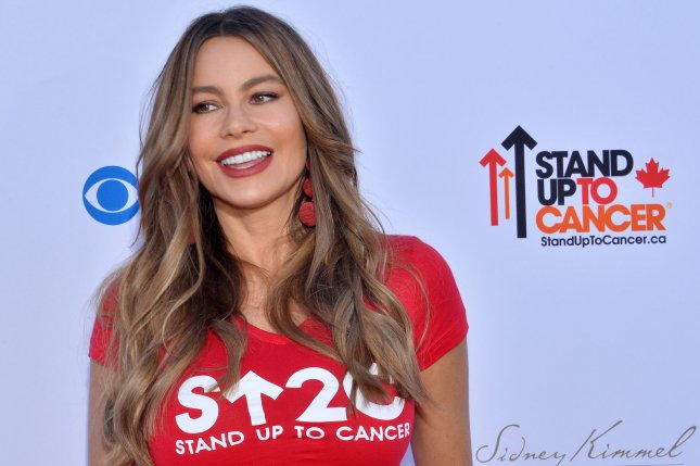 Sofia Vergara addressed the wage gap for Latina women in an Instagram post Thursday. File Photo by Jim Ruymen/UPI