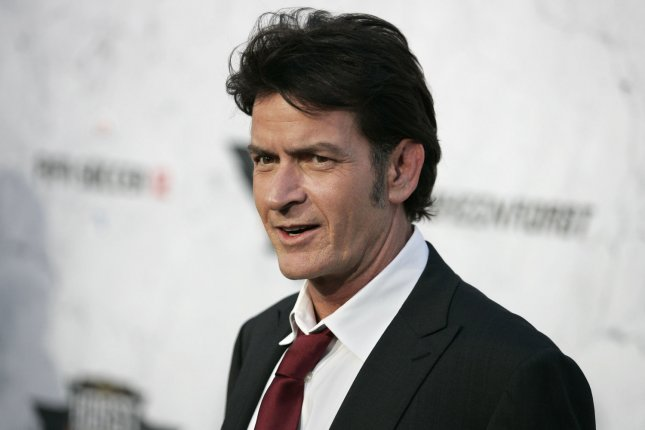 Actor Charlie Sheen. File photo. UPI/Jonathan Alcorn