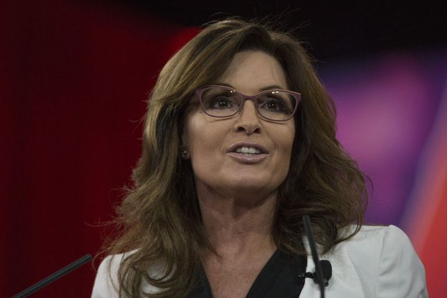 Former Alaska Gov. Sarah Palin speaks at the Conservative Political Action Conference (CPAC) in National Harbor, Md., on February 26, 2015. Palin is reportedly being considered by President-elect Donald Trump to head the troubled Department of Veterans Affairs. Photo by Molly Riley/UPI