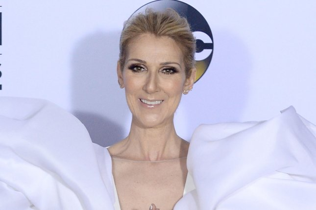 Celine Dion is set to release a new album titled Courage and tour North America. File Photo by Jim Ruymen/UPI