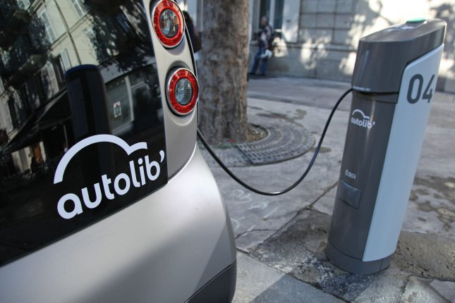 New research suggests social learning patterns can inspire people to engage more climate-friendly behaviors, like buying and using an electric or hybrid vehicle. File Photo by David Silpa/UPI