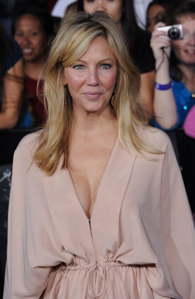 Actress Heather Locklear attends the premiere of the romantic fantasy motion picture The Twilight Saga: Breaking Dawn - Part 1, at Nokia Theatre in the Hollywood section of Los Angeles on November 14, 2011. UPI/Jim Ruymen