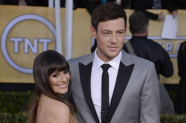 Lea Michele (L) and Cory Monteith at the Screen Actors Guild Awards on January 27, 2013. The pair co-starred as Rachel Berry and Finn Hudson on Glee. File Photo by Phil McCarten/UPI