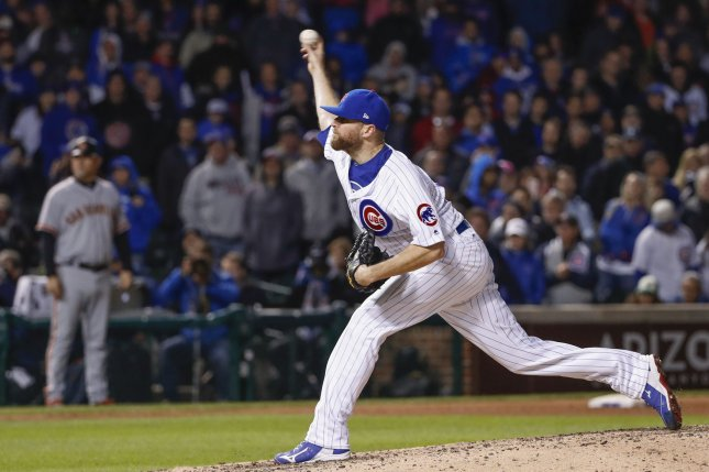 Closer Davis on paternity leave list for Cubs