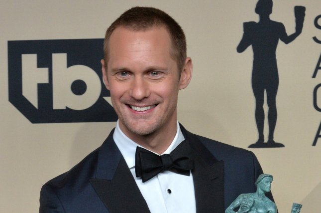 Alexander Skarsgard attends the Screen Actors Guild Awards on January 21. File Photo by Jim Ruymen/UPI