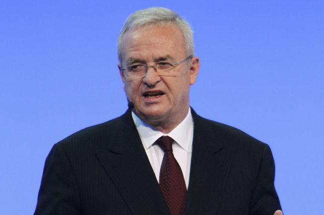 Martin Winterkorn, former Volkswagen AG CEO, faces one count of conspiracy and three counts of wire fraud for his role in the company's emissions scandal. File Photo by Mark Cowan/UPI