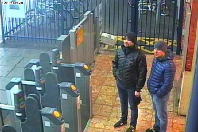 Downing Street rejects Putin claim that Salisbury attack suspects were civilians
