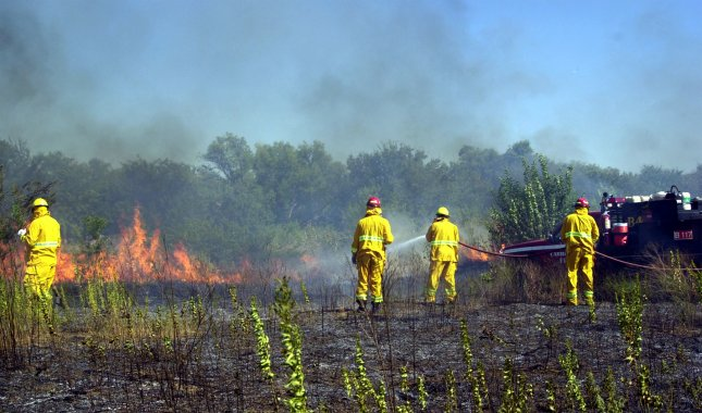 File photo from a 2000 drought just north of Dallas.UPI ih/Ian Halperin