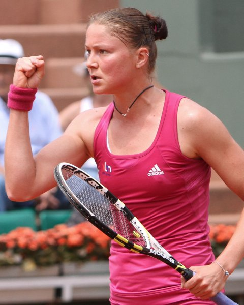 Dinara Safina, shown during the 2010 French Open, has retired from competitive tennis because of a recurring back issue. . UPI/David Silpa