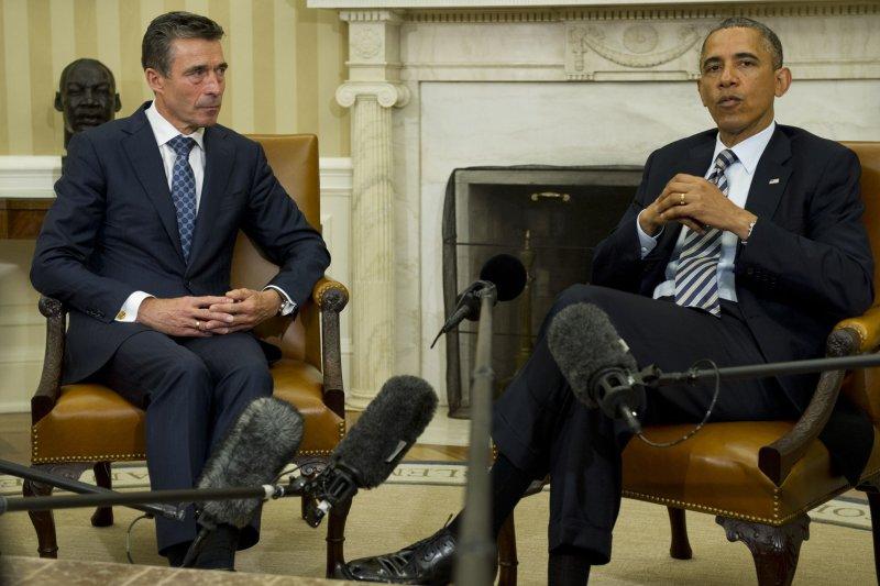 NATO Secretary General Anders Fogh Rasmussen to step down Sept. 30