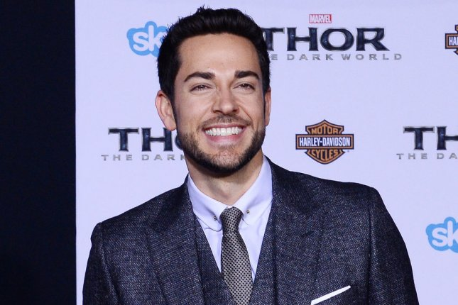 Zachary Levi to host new SyFy trivia game show Geeks Who Drink. File photo by Jim Ruymen/UPI
