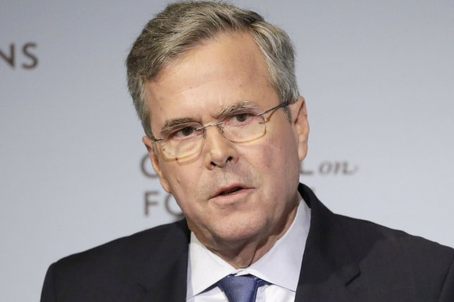 Former Florida Gov. Jeb Bush called his father's appointment of Justice David Souter unfortunate but defended his brother's appointment of Chief Justice John Roberts. Photo by John Angelillo/UPI