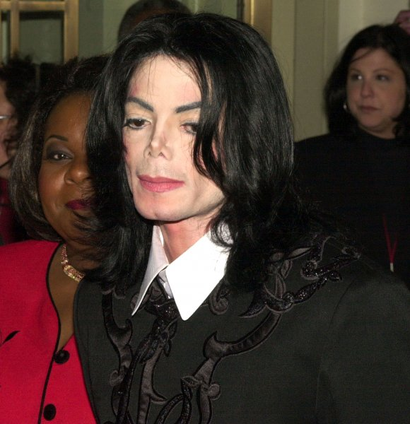 Michael Jackson arrives at Carnegie Hall in New York to chair a benefit and panel discussion on love work and parenting for his foundation, Heal The Kids, on February 14, 2001. File Photo by Ezio Petersen/UPI