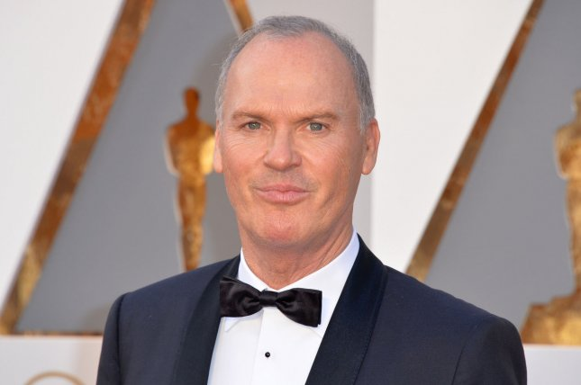 Michael Keaton stars in the latest trailer for Dumbo alongside Colin Farrell. File Photo by Kevin Dietsch/UPI