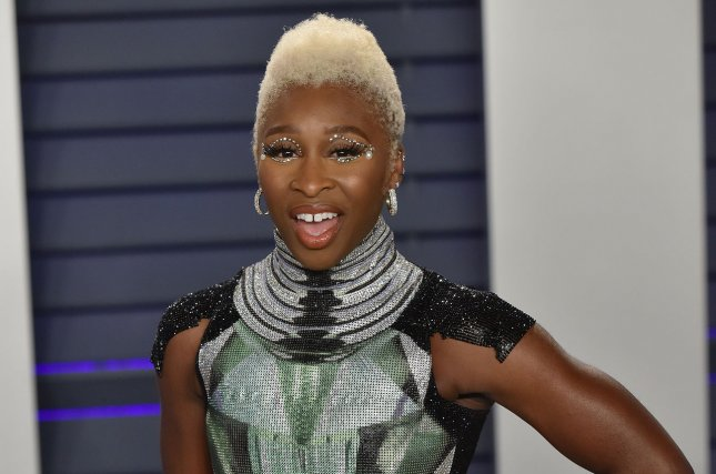 Cynthia Erivo will be performing at the 2019 Tony Awards alongside the casts of musicals such as BettleJuice and The Cher Show. File Photo by Christine Chew/UPI