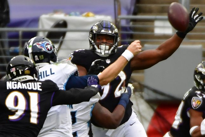 Baltimore Ravens put OLB Justin Houston, three others on COVID-19 list