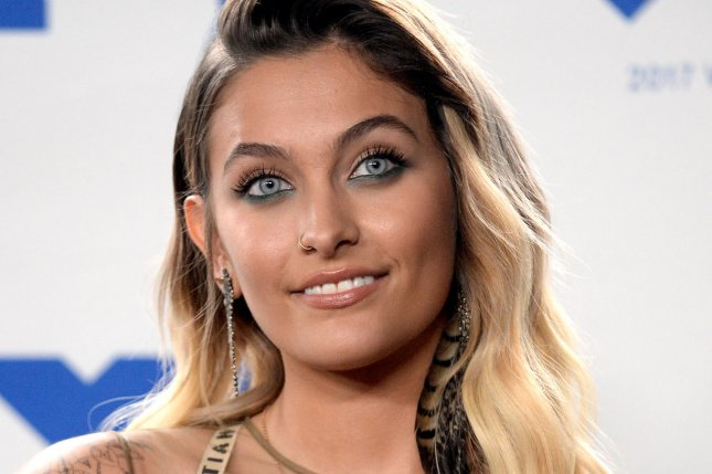 Paris Jackson attends the MTV Video Music Awards on August 27. The aspiring actress and brother Prince Jackson attended cousin Siggy Jackson's nuptials Saturday. File Photo by Jim Ruymen/UPI