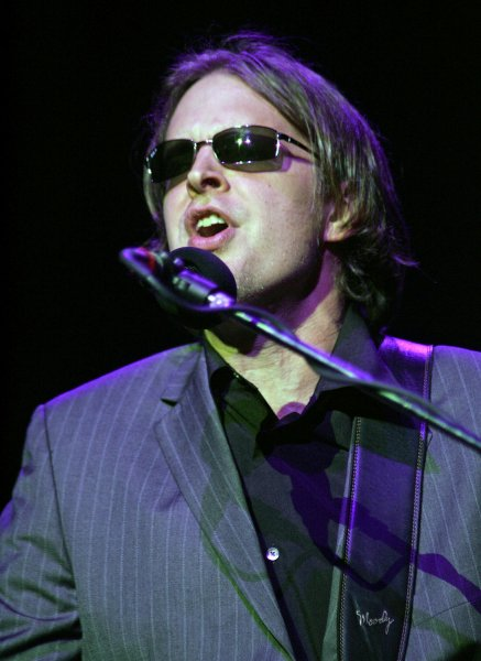 Blues singer Joe Bonamassa performs in concert at the Sinatra Theater at the BankAtlantic Center in Sunrise, Florida on May 3, 2008. (UPI Photo/Michael Bush)
