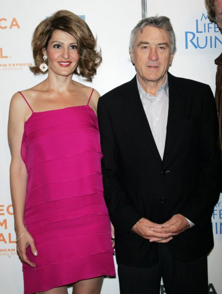 Nia Vardalos and Robert DeNiro arrive for the Tribeca Film Festival premiere of My Life in Ruins at the Tribeca Performing Arts Center/BMCC in New York on May 2, 2009. (UPI Photo/Laura Cavanaugh)