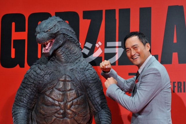 Japanese actor Ken Watanabe attends the premiere for the film Godzilla in Tokyo in 2014. File Photo by Keizo Mori/UPI