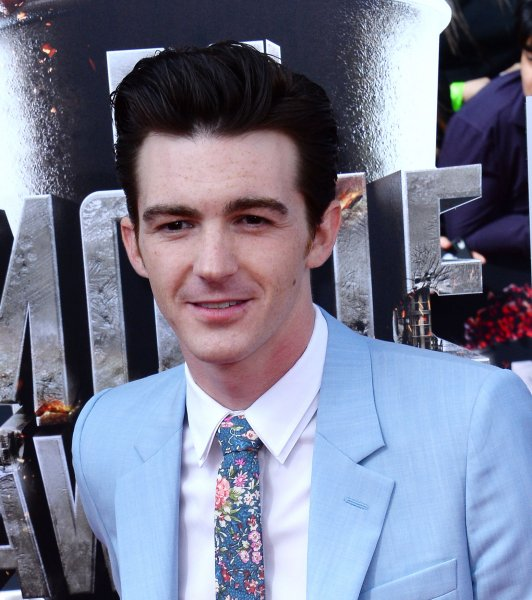 Drake Bell arrives for The MTV Movie Awards on April 13, 2014. Bell was not invited to Drake & Josh costar Josh Peck's recent wedding. File Photo by Jim Ruymen/UPI