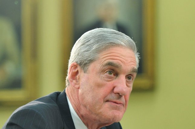 Special counsel Robert Mueller (above) had a guilty plea by Richard Pinedo unsealed Friday in federal court in the District of Columbia. File photo by Kevin Dietsch/UPI