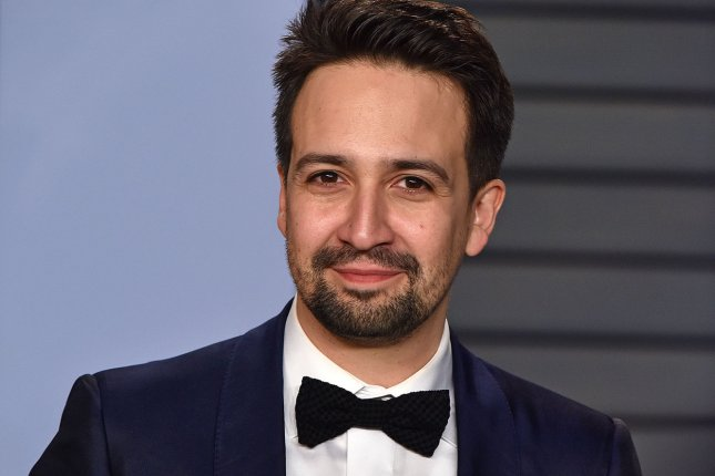 Lin-Manuel Miranda says he is at his parents' house, recuperating from a bout with shingles. File Photo by Christine Chew/UPI