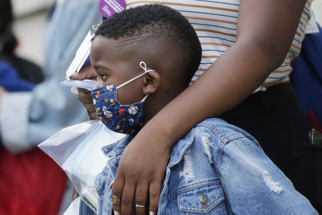 Children have a lower risk for COVID-19 and are less likely to spread the virus, according to a new study. File photo by John Angelillo/UPI