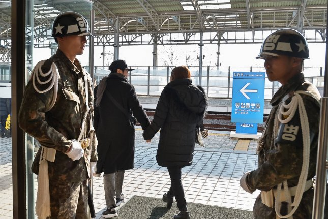 South Korea said Wednesday tensions were mitigated with the North because of government policy. File Photo by Keizo Mori/UPI
