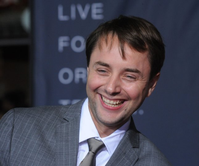 Vincent Kartheiser, a cast member in the motion picture sci-fi thriller In Time, attends the premiere of the film at the Regency Village Theatre in the Westwood section of Los Angeles on October 20, 2011. UPI/Jim Ruymen