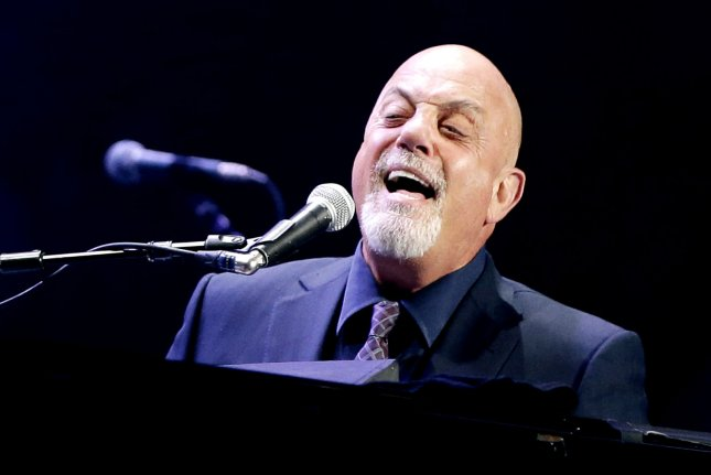 Billy Joel performs at Madison Square Garden in New York City on Aug. 7, 2014. Photo by John Angelillo/UPI