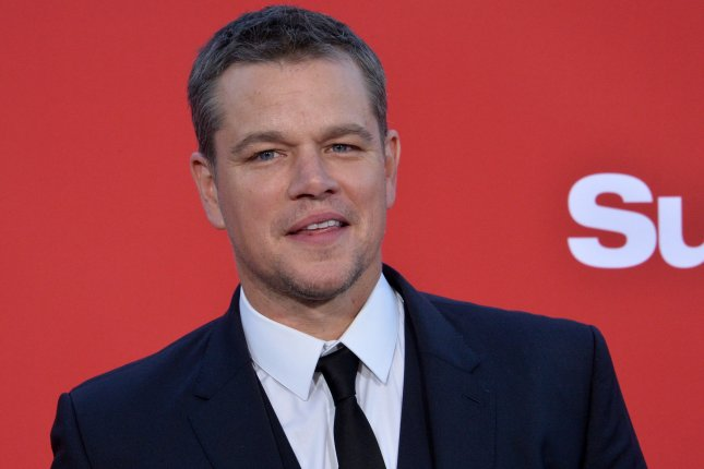 Actor Matt Damon has confirmed his father Kent died earlier this month. File Photo by Jim Ruymen/UPI
